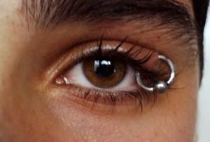 piercing occhio